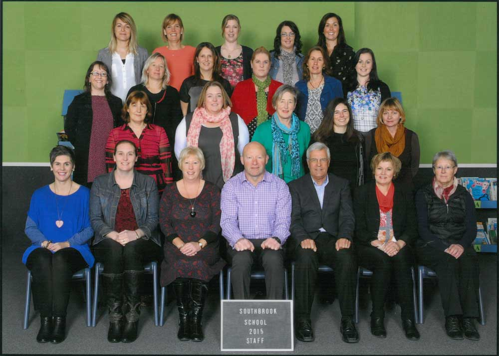 Southbrook School Staff 2015